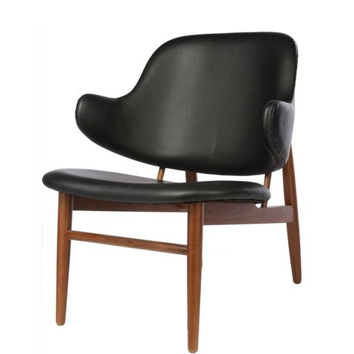 Designer furniture kofod larsen leisure dining shell chair