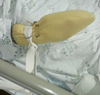 Patient Care Mitts With Straps