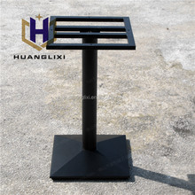 black square cast iron metal table legs for sale