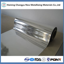 Hot Sell Laminating Roll / Pure Silver Metallic Film