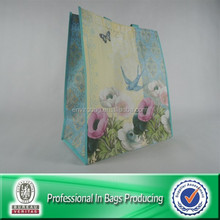 High Quality Custom Cheap Recyclable PP Non Woven Laminated Shopping Bag