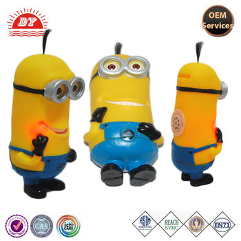 Funny Cute Plastic Vinyl Minions Money Saving Piggy Bank