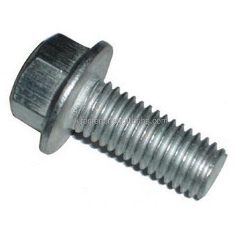 Hot Selling M12 Hex Flange Bolt with serration