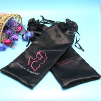 Hot fashion wholesale customize satin silk bag for hair stylist packaging