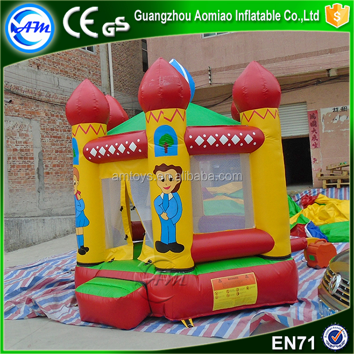 air bouncer inflatable jumping pad, inflatable trampoline
