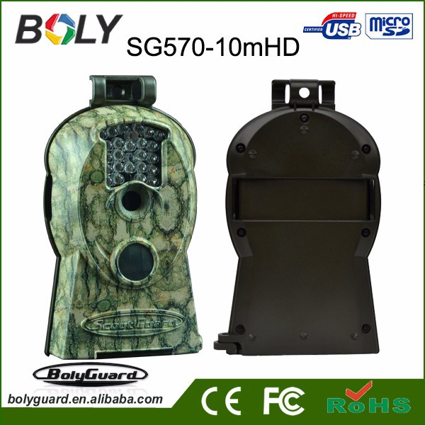 waterproof night version black IR trail camera on sale with 10MP