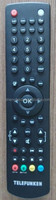 high quality LCD/LED universal remote control telefunken