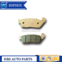 sintered brake pad for HONDA ROAD CBR 600F3/SJR/S 599(CB600F)