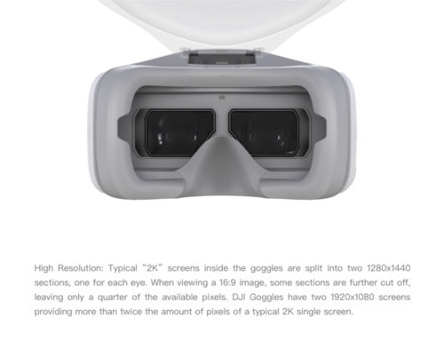 New Original DJI Goggles HD FPV VR Glasses for DJI Phantom/Mavic Pro/Inspire