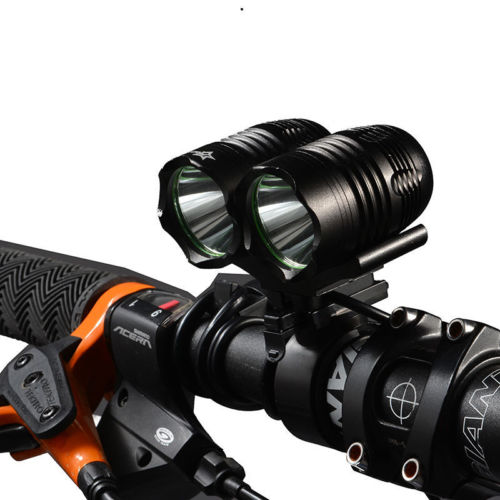 Rockbros Rainproof 1800LM USB Rechargeable T6 Cree XML <strong>U2</strong> LED Bike Front Light Bicycle Headlight with 3 Modes bicycle Light