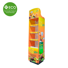Beverage Commercial Refrigerator Used For Sale, Cardboard Display Cooler With Wheels