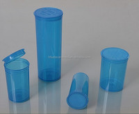 Medical Label Hinged Lid Vials Pop Top Medicine Bottle