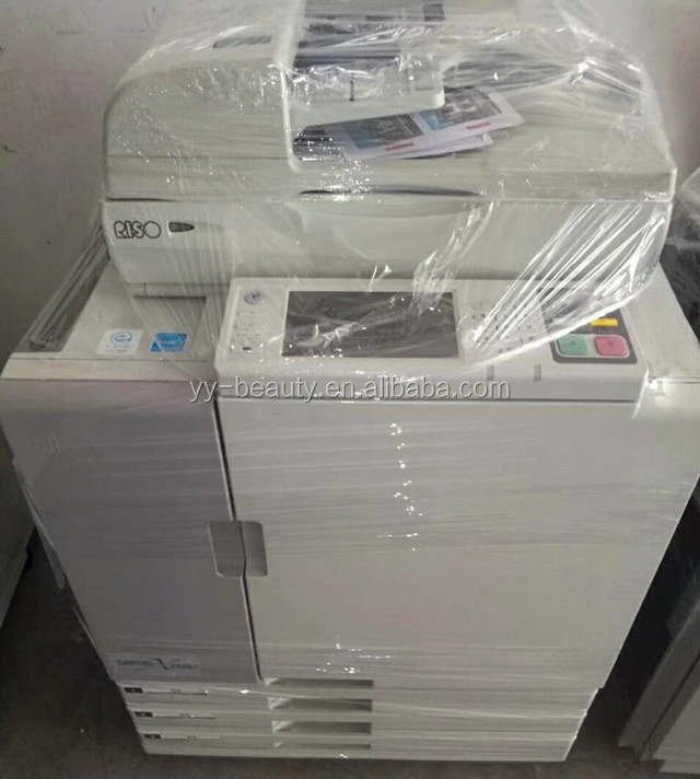 RISOs Comcolor 7250 7050 full color inkjet printer,RISOGRAPH duplicator machine, A3 used photocopier machine