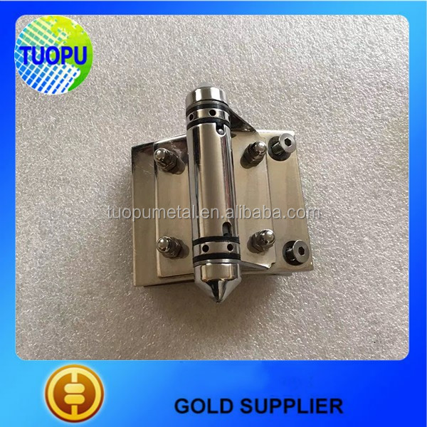 Popular stainless steel glass pool gate heavy loaded sping hinge/self closing glass door hinge