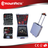 186pcs auto emergency kit/auto car tire repair tools
