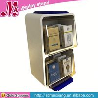 card display stands, MX2974 electronic cigarette acrylic display case