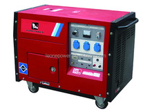 hot saling 5.5kw air-cooled petrol silent generator