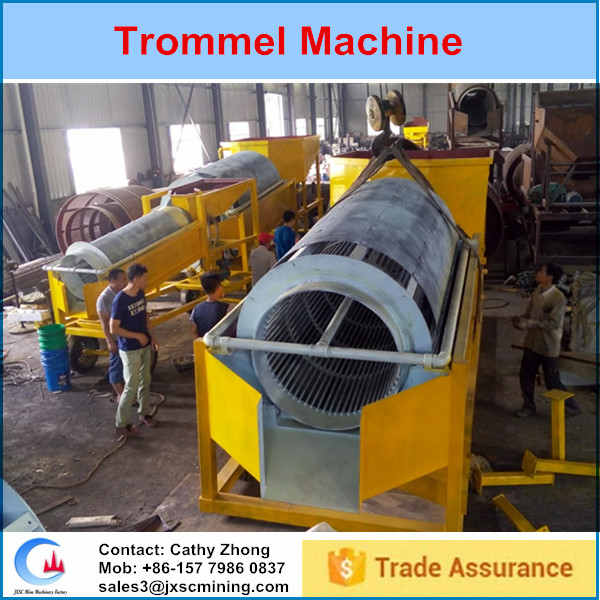 coal washing plant trommel screen made in china