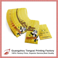 Wholesales Art Paper CMYK Offset Printing Coin Concentrates Package Bag Shatter Envelope