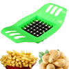 Hot Sale DIY Kitchen Stainless Steel Vegetable Potato Slicer Cutter Chopper Chips Making Tool Potato Cutting Device Fries Tool