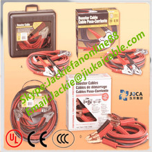 portable car battery 12v 24v jump booster cable with clamps