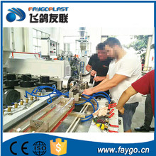 Hot sale !!! PVC hot adhesive lamination laminating Profile Wrapping Machine with CE certificate