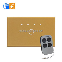 Smart Home Remote Control LED Touch Screen Wall Light Switch Timer Giant JJ-USAB-01