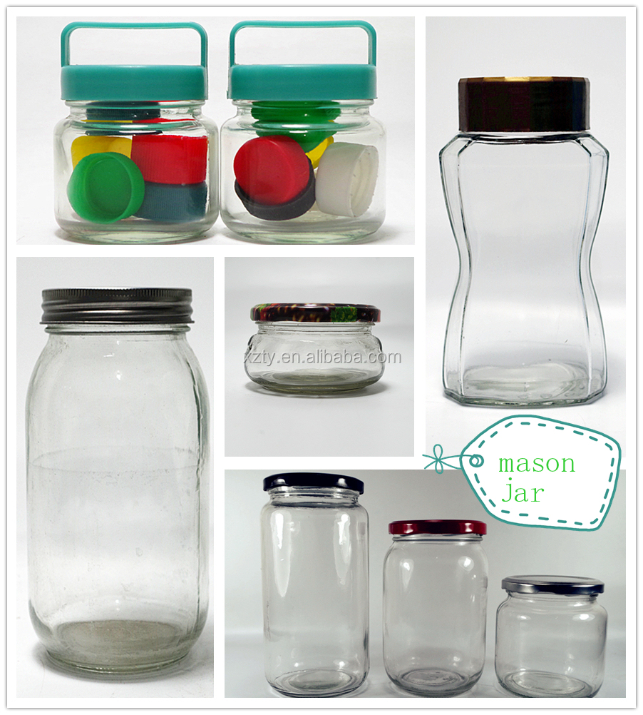 100ml and 200ml Pudding yogurt Glass Jar with lid