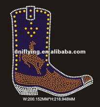 hot boot design hot fix rhinestone in 2012