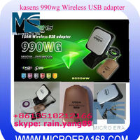 Antenna USB Adapter WIFI Kasens 990WG 6000MW Panel 60DBI alta Potencia usb wifi adapter