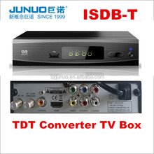 2016 best selling latin America tdt decodificador digital tv isdb-t digital tv reception box