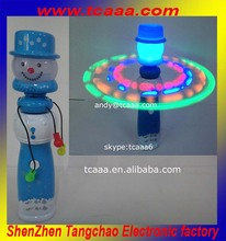 Top selling led flashing spin ball sticks for christmas decorations