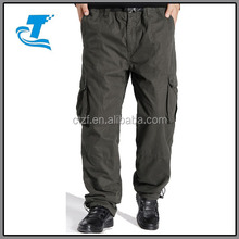 Outdoor warmer men winter pants with lots of pockets
