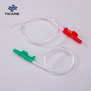 Disposable Yankauer Infant Suction Catheter With Control