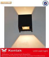 aluminum body led wall light square 2 ways / 4 ways light