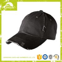 New arrival Wholesale baseball hat with removable logos