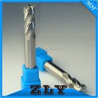Guangdong cnc tool manufacture finishing carbide end mill tools