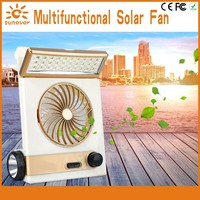 Best selling products New design patent solar power stand fan
