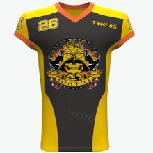 Wholesale custom OEM sports sublimated jersey football american