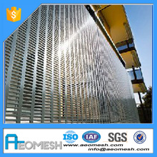 Aluminum/SS/Galvanized Material and Perforated Mesh Type decorative metal perforated sheet