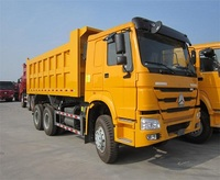 420 HP HOWO Made In China 6x4 Tipper Truck,CNG LNG Truck