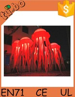 club wedding led light party decoration inflatable jellyfish