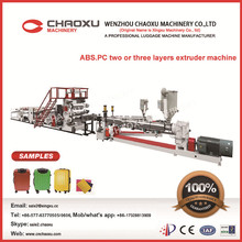 PC/ABS raw material recycled sheet extruder machine