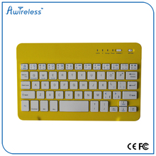 Trade assurance Arabic english wireless mini bluetooth keyboard with touchpad for ipad