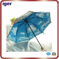 2015 color change when wet/rain promotion umbrella
