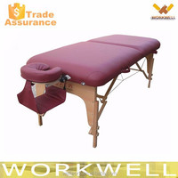 WorkWell cheap folding wooden massage table Kw-T2514a