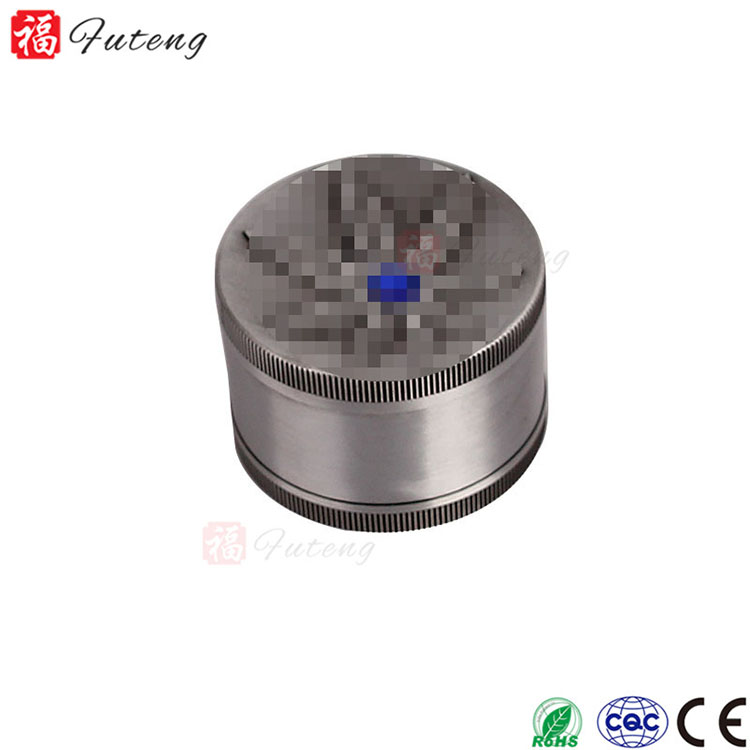 Futeng 50mm 3layers Customize Wholesale Zinc Tobacco Grinder