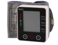 Portable Wrist Blood Pressure Monitor Automatic Wrist Watch Blood Pressure Home Electronic Digital Blood Pressure Monitor