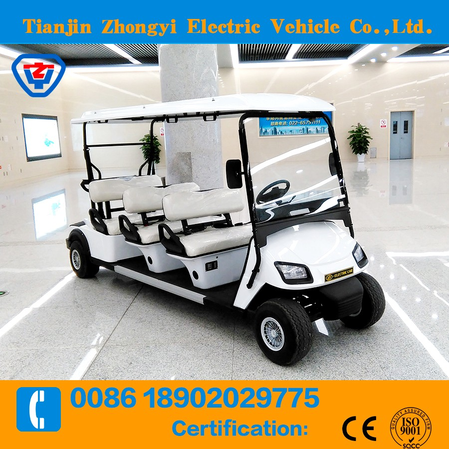 CE approved 4 seaters mini golf car with high quality