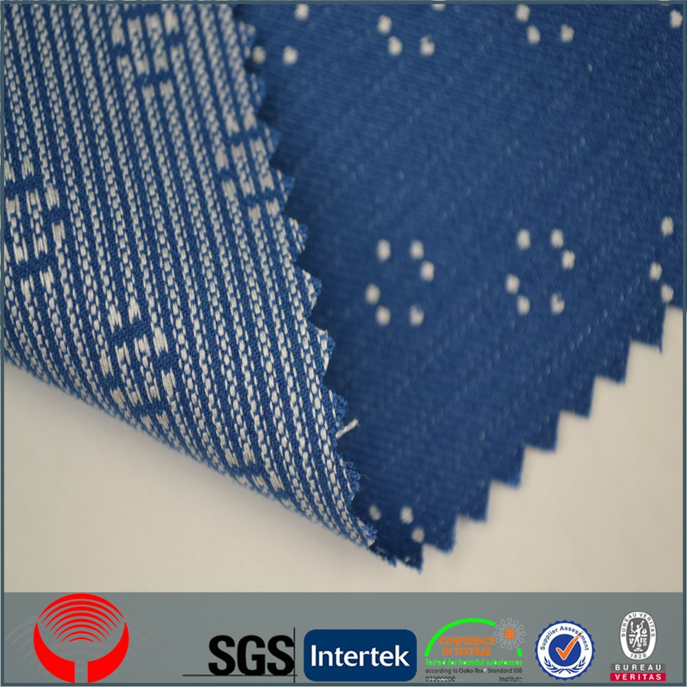 manufacturer women dress polka dot fabric for suit with SGS certificate